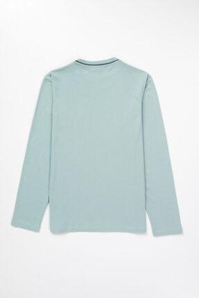Dagi Erkek Mint Yeşili Pamuk Cepli Pijama Takımı 3