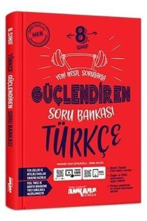 Ankara Yayıncılık 8. Sınıf Türkçe Güçlendiren Soru Bankası 0
