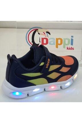Vicco Erkek Çocuk Işıklı Günlük Spor Ayakkabıları 346p21y115 2