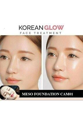 SS Derma Meso Foundation Bbglow  Koreden Kalıcı Fondöten Camo 1 light 2,5ml 5'li 2