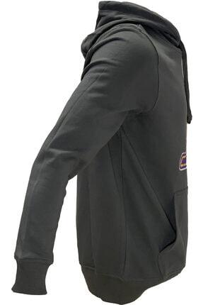 SPORTSACADEMY Unisex Siyah Basketbol Sweatshirt 1