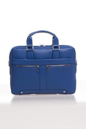 Sergio Giorgianni Luxury Mpist9141 Belinda Mavi Unısex Evrak Çantası 0