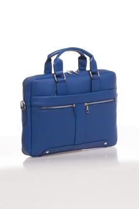 Sergio Giorgianni Luxury Mpist9141 Belinda Mavi Unısex Evrak Çantası 1