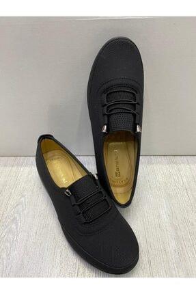 Siyah Ortopedik Kadın Ayakkabısı ATM154-2