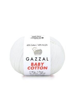 Gazzal Baby Cotton Amigurumi Ipi El Örgü Ipi Punch Ipi 50 gr 3432 1