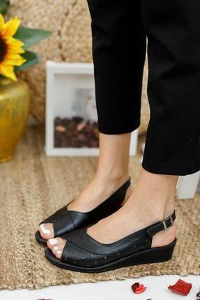 Muggo Ays72 Kadın Günlük Ortopedik Sandalet 1