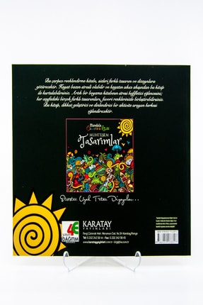 easyso Mandala Muhteşem Tasarımlar Boyama Kitabı Yetişkin Boyama 72 Syf 1