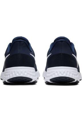 Nike Erkek Lacivert Revolutıon Spor Ayakkabı 5 Bq3204-400 4