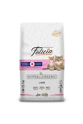Felicia Az Tahıllı Yavru Kuzu Etli Hypoallergenic Kedi Maması 12 kg 0