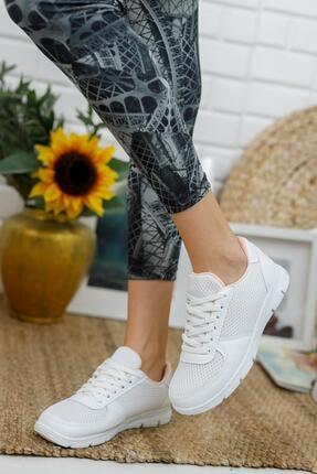 Muggo Svt03 Ortopedik & Terletmez Kadın Sneaker 0