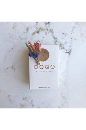 OQQO Kadran Tasarımlı Metal Gümüş Kadın Kol Saati 3