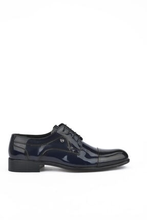 تصویر از , Erkek Hakiki Deri Ayakkabı 111415 503021 Lacıvert