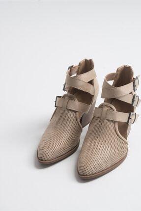 LuviShoes 2030 Ten Kadın Yazlık Bot 0