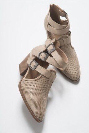 LuviShoes 2030 Ten Kadın Yazlık Bot 3