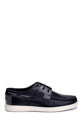 Derimod Erkek Siyah Deri Casual Ayakkabı 0