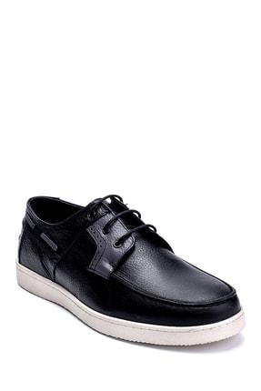 Derimod Erkek Siyah Deri Casual Ayakkabı 1