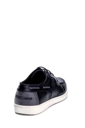 Derimod Erkek Siyah Deri Casual Ayakkabı 4