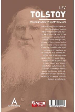 Aperatif Kitap Yayınları Sevginin Yasası Ve Şiddetin Yasası - Tolstoy - Aperatif Kitap Dünya Klasikleri 2