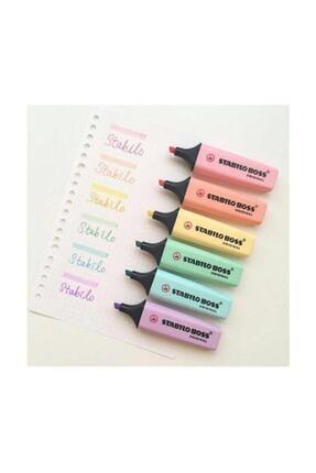Stabilo Boss Original Fosforlu İşaretleme Kalemi 6 Renk Set 1