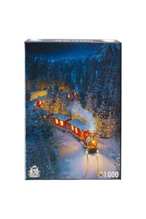 captainalbatross 1000 Parça Puzzle Jingle All The Way Yeniyıl Noel Yılbaşı 1