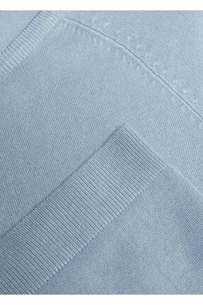 Mango Kadın Mavi Bluz 4
