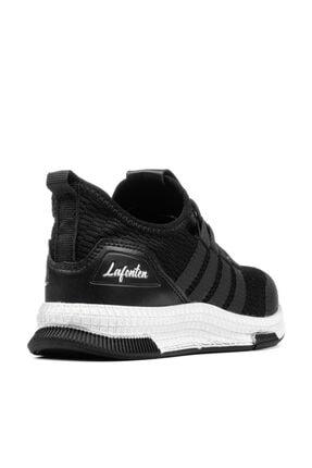 MAGIC SHOES Unisex Çocuk Siyah Beyaz Spor Ayakkabı 2