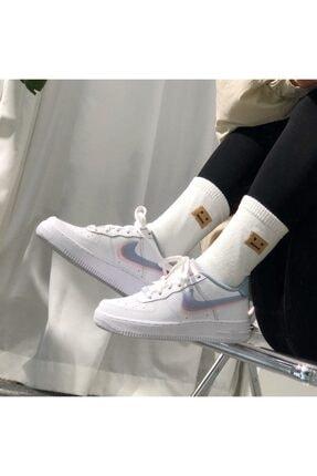 Nike Kadın  Air Force 1 Lv8 ( Gs ) Sneaker Ayakkabı 0