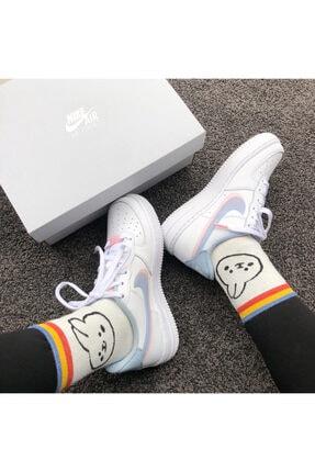 Nike Kadın  Air Force 1 Lv8 ( Gs ) Sneaker Ayakkabı 1