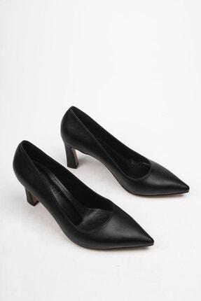 Marjin Akuna Kadın Stiletto Topuklu Ayakkabısiyah 3