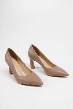Marjin Kadın Vizon Stiletto Topuklu Ayakkabı Akuna 3
