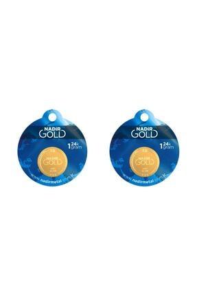 Tuğrul Kuyumculuk 2 Adet 1 gr 24 Ayar gram Altın 1