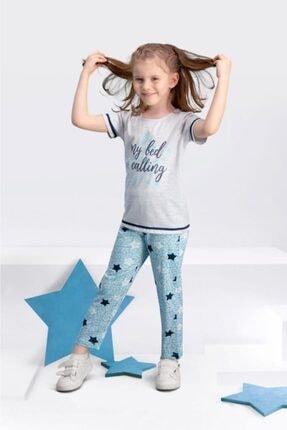تصویر از 109-5 Kısa Kollu Kız Çocuk Pijama Takımı