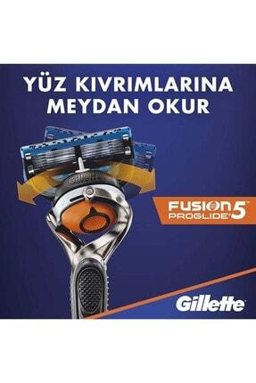 Gillette Fusion Proglide Yedek Tıraş Bıçağı 8'li - Karton Paket 2