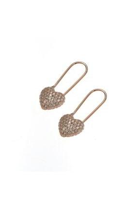 Luna Argento Jewelry Kalp Gümüş Küpe 1