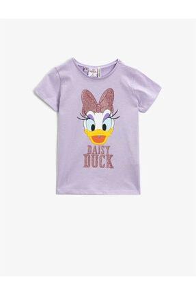 Koton Kız Çocuk Pembe Tshirt 0