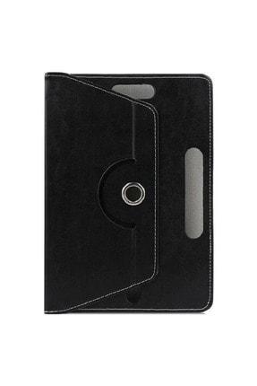 """Mobilite Hometech Alfa 7lm 7"""" Uyumlu 360°dönebilen Kapaklı Standlı Universal Tablet Kılıfı 0"""