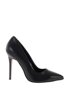 Bambi Siyah Kadın Klasik Topuklu Ayakkabı K01596177009 1