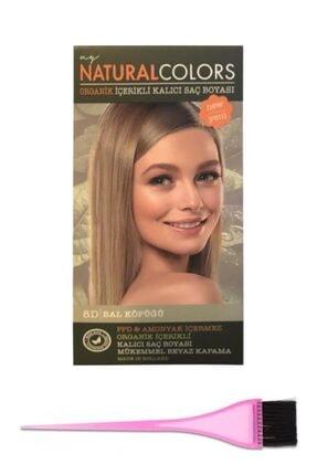 Saç Boyası 8d+boya Fırçası 86811270349058