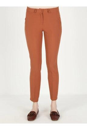 Loreen Kadın Kiremit Cep Detaylı Pantolon 2