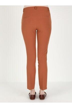 Loreen Kadın Kiremit Cep Detaylı Pantolon 4