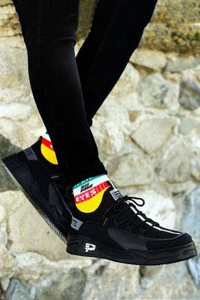 BIG KING Siyah Çizgi Detay Erkek Spor Ayakkabı 0