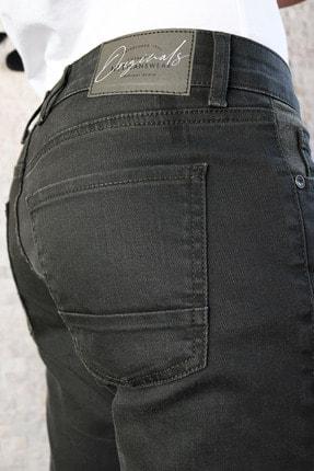HLT JEANS Erkek Yeşil Slim Fit Pantolon Hltvalkhi 2