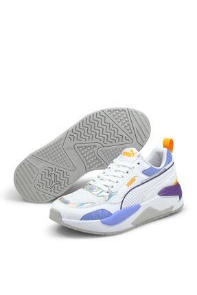 Puma Kadın Spor Ayakkabı - Beyaz X-ray² Square Iri 0