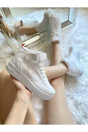 ELSESHOES Kadın Beyaz Spor Ayakkabı 1