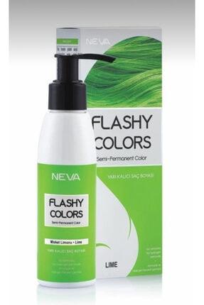 Flashy Colors Yarı Kalıcı Saç Boyası Misket Limonu 100 ml 8698636612814 1