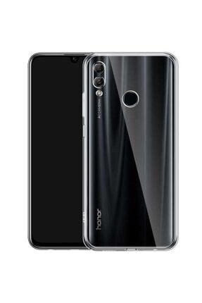 Huawei Honor 8x Kılıf Şeffaf Tam Koruma Esnek Süper Silikon Model 0