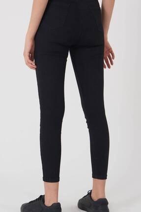 Addax Kadın Siyah Yüksek Bel Pantolon Pn8560 - Pnspnt Adx-0000014371 4