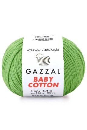 Gazzal Baby Cotton El Örgü Ipi 3448 0