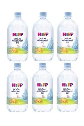 Hipp Doğal Mineralli Su 1 lt x 6 Adet 0