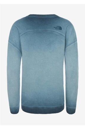 The North Face Washed Kadın Uzun Kollu Tişört Mavi 1